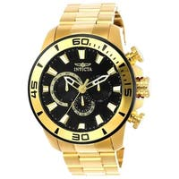 Invicta Men's 22590 'Pro Diver' Gold-Tone Stainless Steel Watch