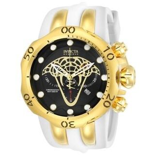 Invicta Men's 24066 'Reserve' Venom Viper White Silicone Watch