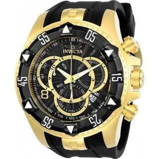 Invicta Men's 24275 'Excursion' Black Silicone Watch
