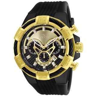 Invicta Men's 24699 'Bolt' Black Silicone Watch