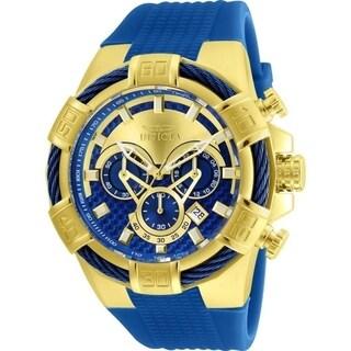 Invicta Men's 'Bolt' Blue Silicone Watch