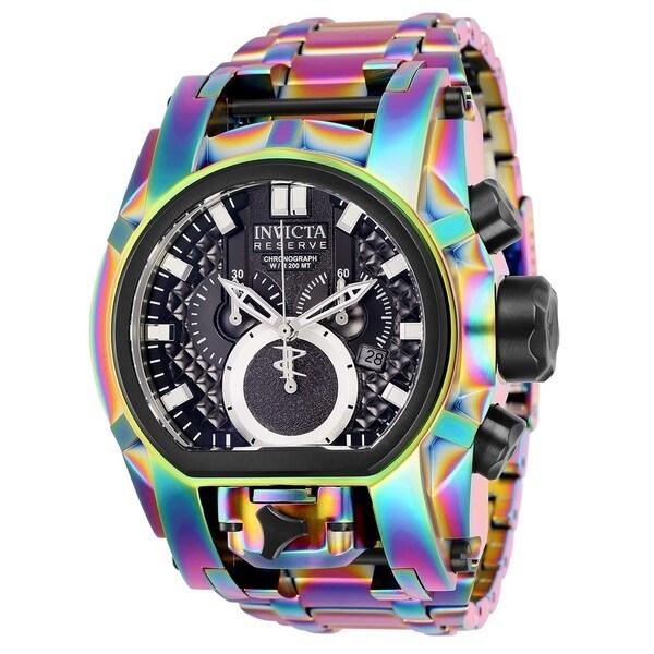 shop invicta men s reserve bolt zeus multi stainless steel watch