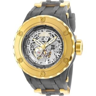 Invicta Men's 25132 'Subaqua' Automatic Gold-Tone and Grey Silicone Watch