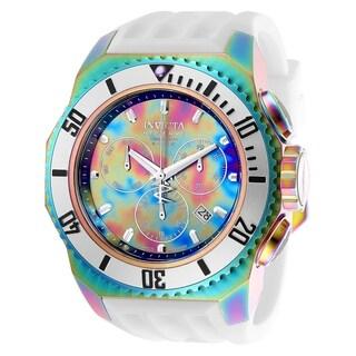 Invicta Men's 25735 'Russian Diver' White Silicone Watch
