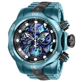 Invicta Men's 'Reserve' Venom Green Stainless Steel Watch