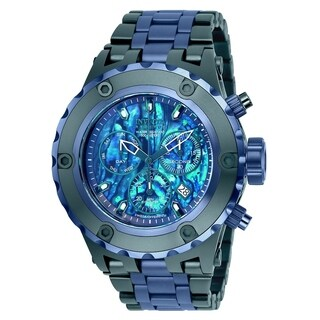 Invicta Men's 25910 'Reserve' Specialty Subaqua Blue Stainless Steel Watch