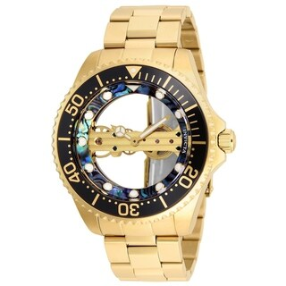 Invicta Men's 26410 'Pro Diver' Mechanical Gold-Tone Stainless Steel Watch