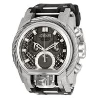 Invicta Men's 26446 'Reserve' Bolt Zeus Black and Stainless Steel Stainless Steel Watch