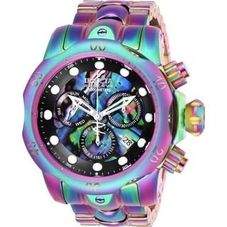 Invicta Men's 26582 'Reserve' Venom Iridescent Stainless Steel Watch