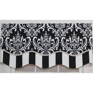 RLF Home Ozbourne Window Valance (More options available)