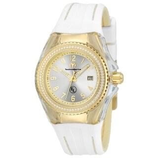 TechnoMarine Women's TM-416025 'Eva Longoria' White Silicone Watch