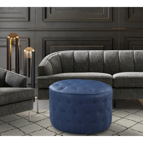 Chic Home Tosh PU Leather Upholstered Ottoman. Opens flyout.