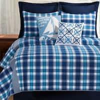 Doyle Rustic Plaid Cotton Quilt Set