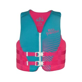 Full Throttle Youth Rapid-Dry Vest, Pink