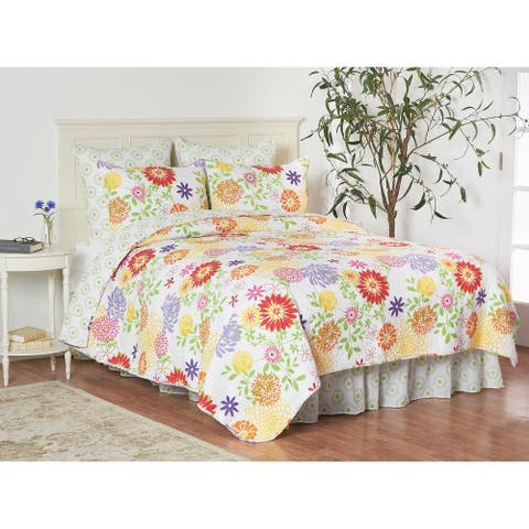 Lilly 3 Piece Quilt Set - Twin 2 Piece