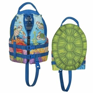 Full Throttle Child Water Buddies Vest, Turtle
