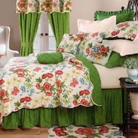 Pembroke Floral Cotton Quilt Set