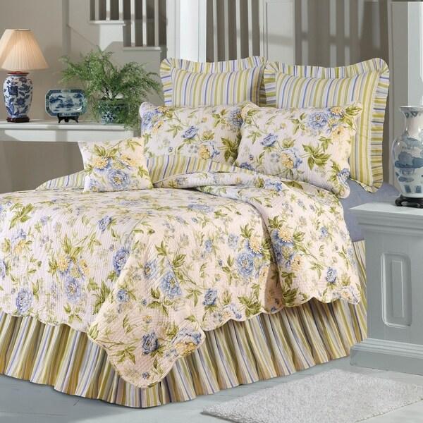 Robina Floral Cotton Quilt Set