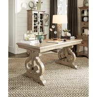 Tinley Park Traditional Dove Tail Grey Writing Desk