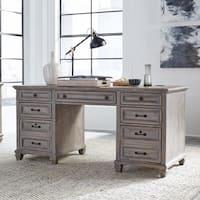 Lancaster Traditional Dove Tail Grey Executive Desk