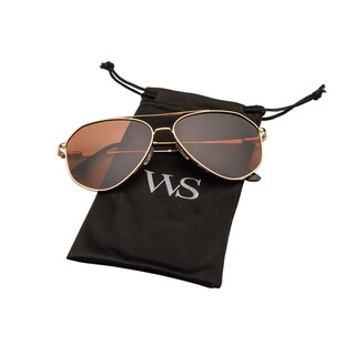 Polarized Aviator sunglasses For women and men Stainless steel frame (3 options available)