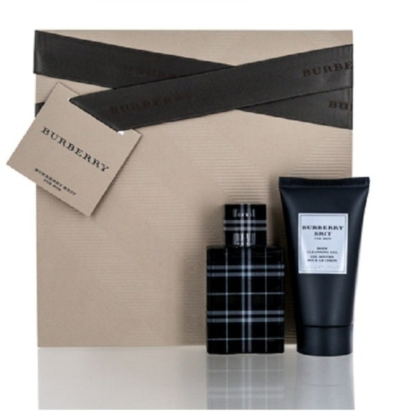483bf9d5ab2 Shop Burberry Brit Men s 2-piece Gift Set - Free Shipping On Orders Over   45 - Overstock - 22409250