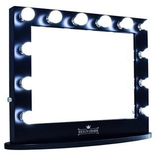 ReignCharm Hollywood Vanity Mirror Black
