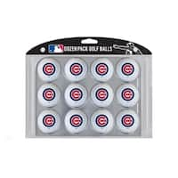 Team Golf MLB Chicago Cubs Sports Team Logo Dozen Pack Golf Balls