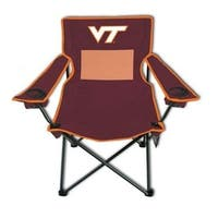 Rivalry NCAA Virginia Tech Hokies Sports Team Logo Monster Mesh Adult Chair