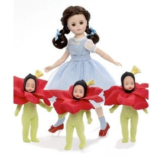 Madame Alexander Dorothy in the Poppy Field 10-inch Doll with Poppies - Kids Toy