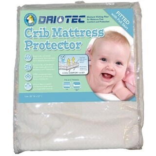 Driotec Crib Mattress Protector waterproof soft fabric crinkle-free by Abstract