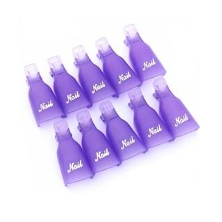 M.B.S Gel Nails Remover Caps Purple