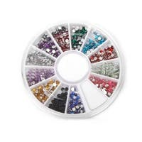 M.B.S 12 Color Nailart Manicure Wheels - Multi