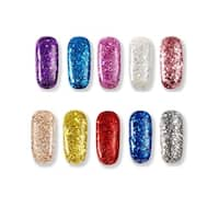 M.B.S Nail Art Glitter Powder - Multi-color