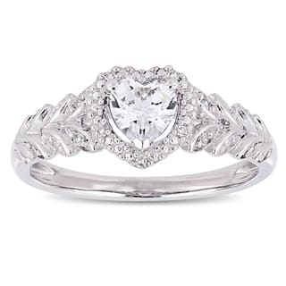 Buy Heart Engagement Rings Online at Overstock.com   Our Best ...