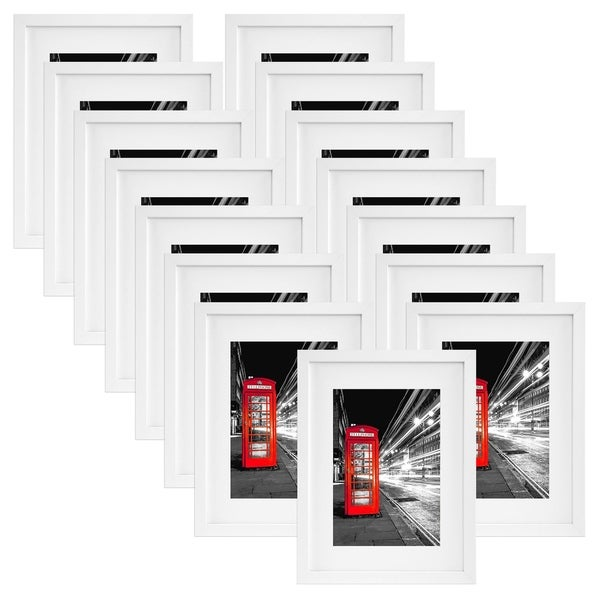 Shop 15 Pack 11x14 White Picture Frames Made To Display Pictures