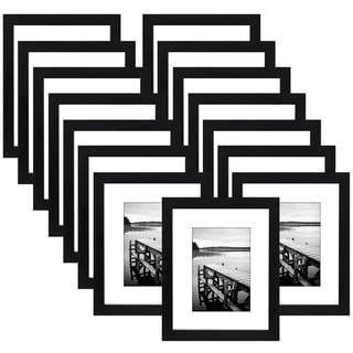 Link to Americanflat 15 Pack - 8x10 Picture Frames - Made to Display Pictures 5x7 Inches with Mat or 8x10 Inches without Mat Similar Items in Decorative Accessories