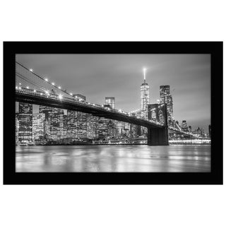 Americanflat 8.5x14 Black Picture Frame - For Legal Sized Paper - Shatter-Resistant Glass Included - Hanging Hardware Included
