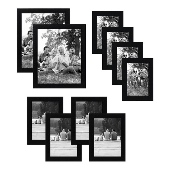 Shop 10 Piece Multipack Black Frames Includes Two 8x10 Frames