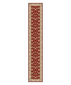Safavieh Lyndhurst Traditional Oriental Burgundy/ Ivory Runner (2'3 x 12')