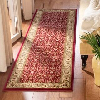 "Safavieh Lyndhurst Traditional Oriental Red/ Ivory Runner Rug - 2'3"" x 8'"