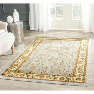 Safavieh Lyndhurst Traditional Oriental Light Blue/ Ivory Runner (2'3 x 12)
