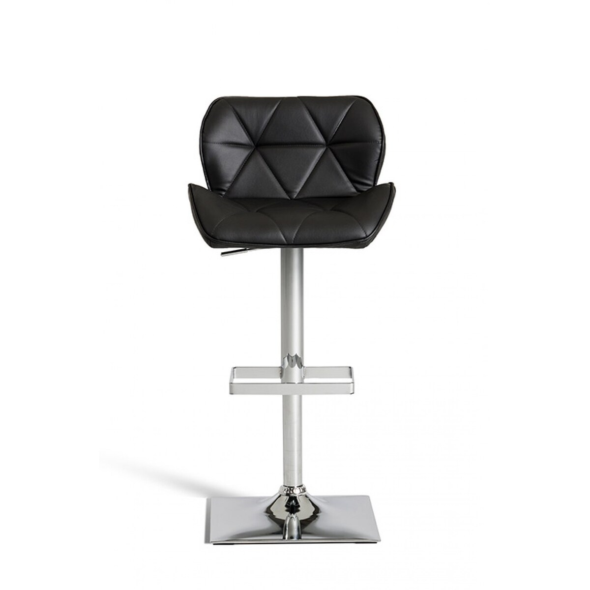 Modrest Otto Modern Black Leatherette Bar Stool