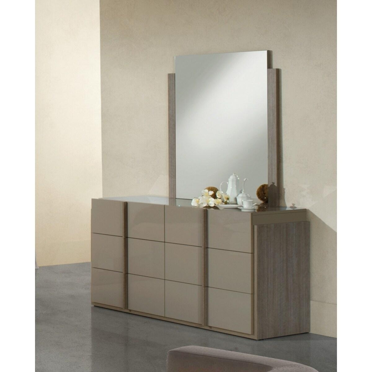 Nova Domus Marcela Italian Modern Dresser & Mirror