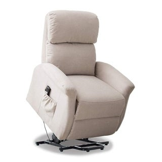 BONZY Lift Chair Power Lift Chair with Remote Control for Gentle Motion - Smoke Gray