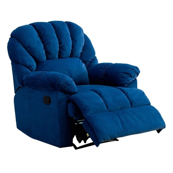 Shop Bonzy Reliner Chair With Over Stuffed Shell Shape