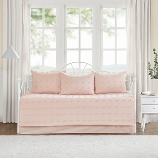 Link to Urban Habitat Maize Cotton Jacquard 5pcs w/Chenille Dots Daybed Set Similar Items in Daybed Covers & Sets