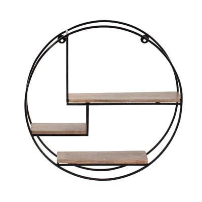 Marly Round Floating Wall Shelf - 19.50 x 19.50 x 4.75