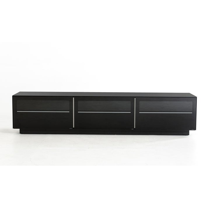Modrest Landon Contemporary Black TV Stand