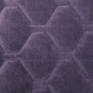 ITS Logan Solid Plush XL Sofa Furniture Protector (XL Sofa - Grape)